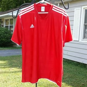 Adidas men's red shirt sz 2Xl